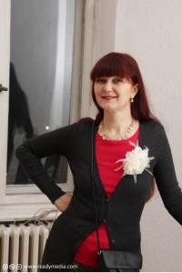 Marina Ljubaskina in der Lettretage