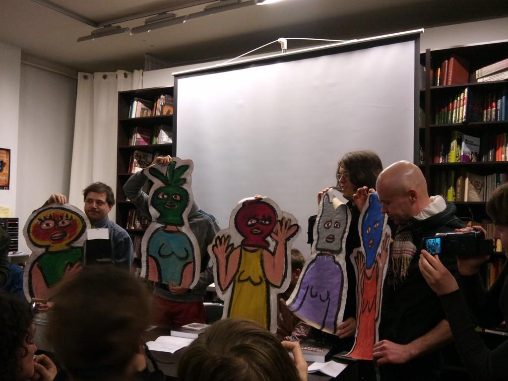 Презентация новой книги «Тотальная «Война». Арт-активизм эпохи тандемократии» социолога Алека Эпштейна 23ого марта 2012 в Гилее