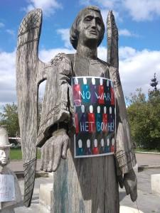 """weitere Skulpturen im Rahmen der Ausstellung """"Otkrytoe pis'mo"""" // """"Offener Brief"""""""
